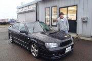新潟県  伊藤さん 購入した車:レガシィB4