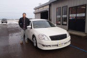 新潟県  菅原さん 購入した車:ティアナ