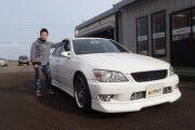 新潟県  高野さん 購入した車:アルテッツァ