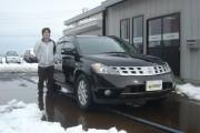 新潟県  滝本さん 購入した車:ムラーノ