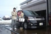 新潟県  菅沼さん 購入した車:ヴォクシー