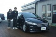 新潟県  山﨑さん 購入した車:ストリーム