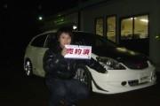 新潟県  熊倉さん 購入した車:シビック タイプR
