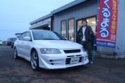 新潟県  中山さん 購入した車:ランサーエボリューション GT-A