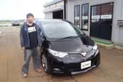 新潟県  小柳さん 購入した車:エスティマ