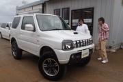 新潟県  長谷川さん 購入した車:ジムニー