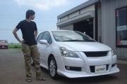 新潟県  前田さん 購入した車:ブレイド