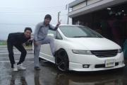 新潟県  小林さん 購入した車:ホンダ オデッセイ
