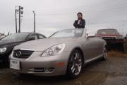 新潟県  田中さん 購入した車:レクサスSC430