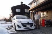富山県  林さん 購入した車:マツダ プレマシー