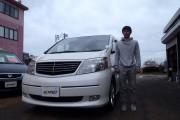 新潟県  古谷さん 購入した車:アルファード ハイブリッド