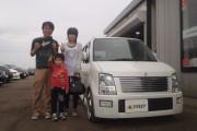 新潟県  加島さん 購入した車:ワゴンR
