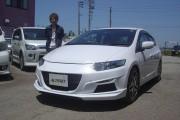 新潟県  小林さん 購入した車:インサイト