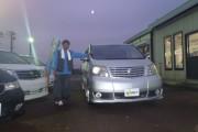 新潟県  石川さん 購入した車:アルファード