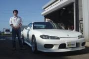 新潟県  道見さん 購入した車:シルビア