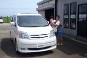 新潟県 菖蒲谷さん 購入した車:アルファードハイブリッド