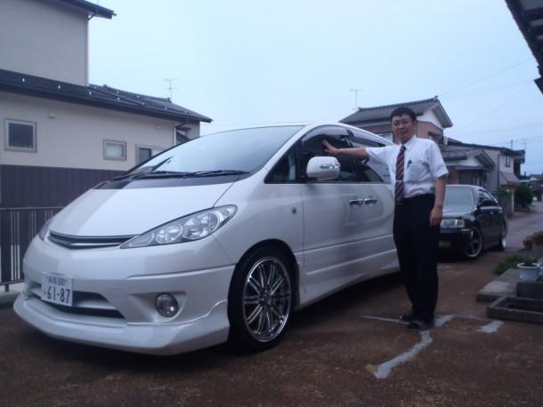 新潟県  島田さん 購入した車:エスティマ