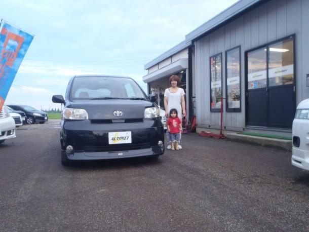 新潟県  渡辺さん 購入した車:トヨタ ポルテ