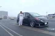 福島県 先崎さん 購入した車:ステップワゴン
