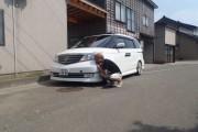 新潟県 鬼山さん 購入した車:エリシオンプレステージ