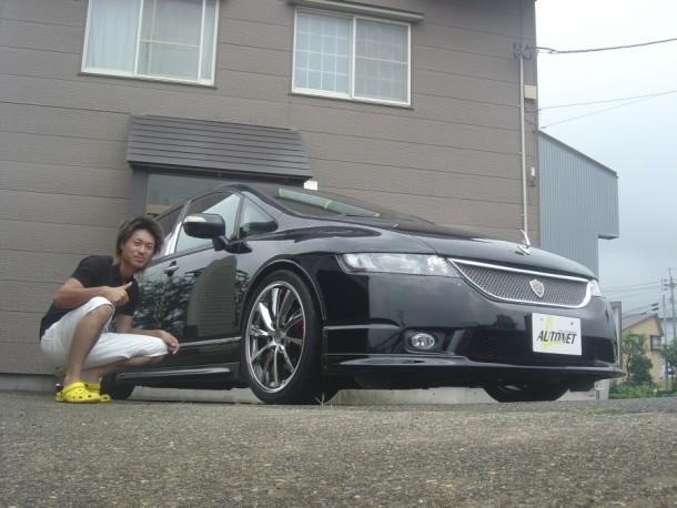 新潟県  内田さん 購入した車:ホンダ オデッセイ