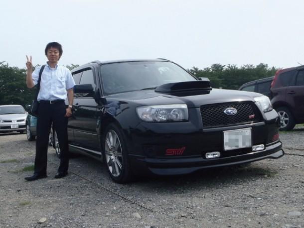 群馬県  中嶋さん 購入した車:スバル フォレスター STi