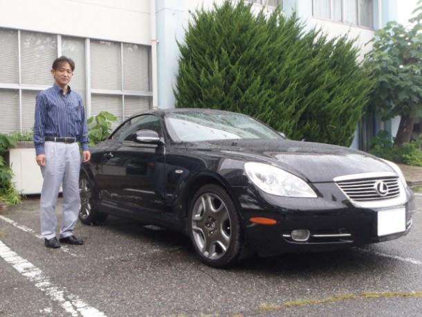 長野県  中澤さん 購入した車:レクサス SC430