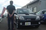 新潟県 石川さん 購入した車:keiワークス