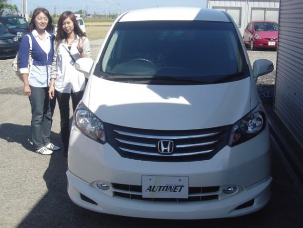 新潟県  高橋さん 購入した車:ホンダ フリード