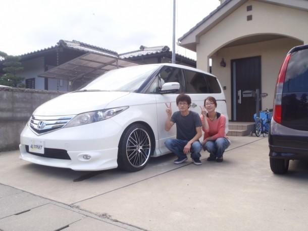 長野県  瀧澤さん 購入した車:ホンダ エリシオン
