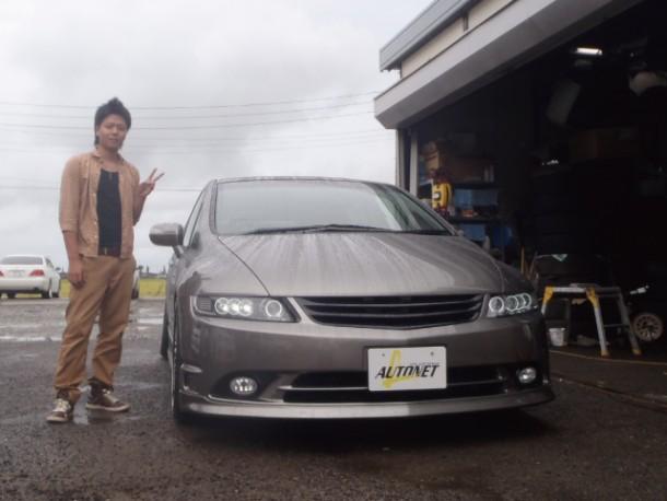 新潟県  轡田さん 購入した車:ホンダ オデッセイ