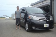 新潟県 佐久間さん 購入した車:トヨタ アルファードハイブリッド