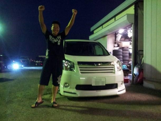 新潟県  谷澤さん 購入した車:トヨタ ノア