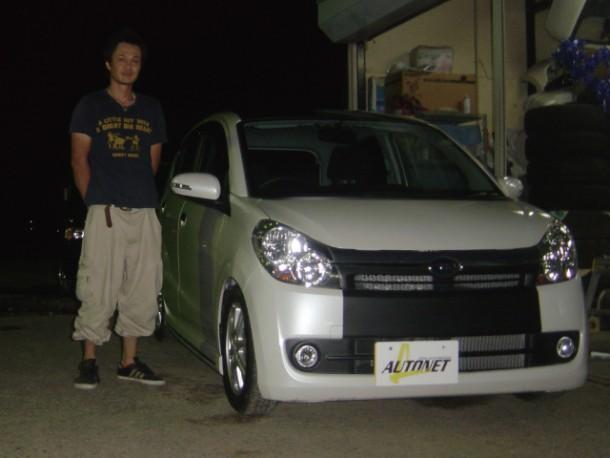 新潟県  田中さん 購入した車:スバル プレオカスタム