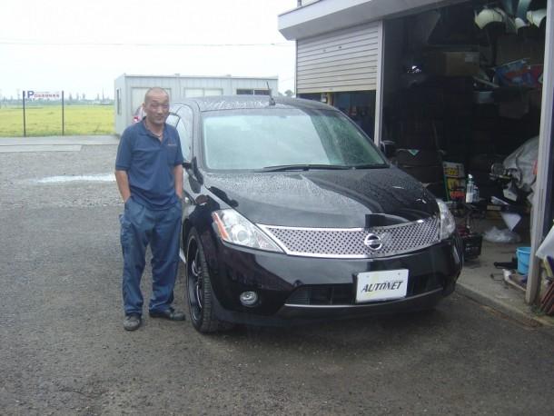 新潟県  森さん 購入した車:日産 ムラーノ