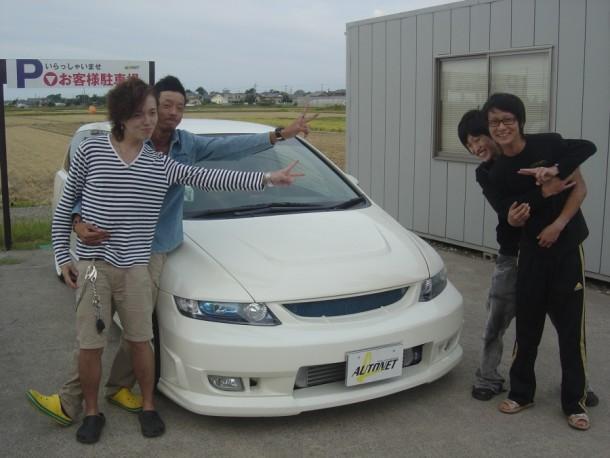 新潟県  佐藤さん 購入した車:ホンダ オデッセイ