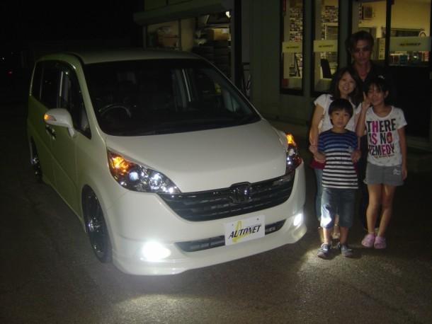 新潟県  佐藤さん 購入した車:ホンダ ステップワゴン