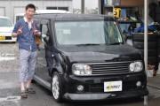 新潟県 加藤さん 購入した車:日産 キューブ
