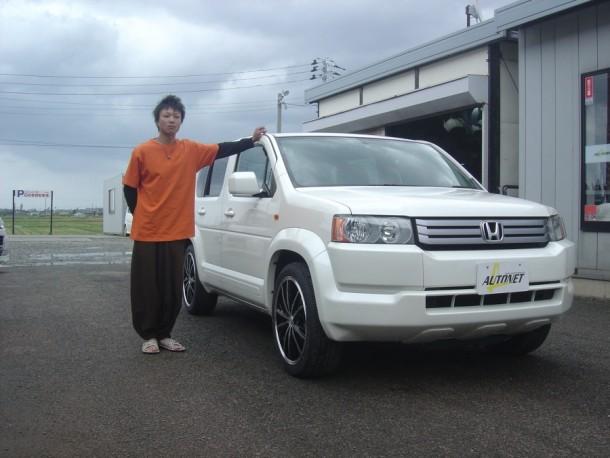 新潟県  玉木さん 購入した車:ホンダ クロスロード