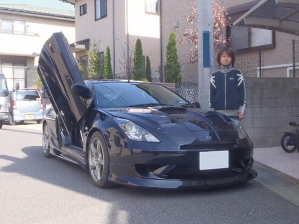 東京都  田中さん 購入した車:トヨタ セリカ