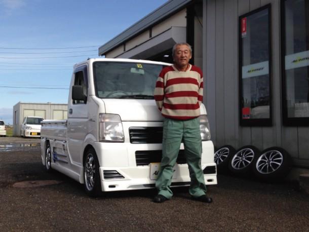 新潟県  古泉さん 購入した車:スズキ キャリートラック