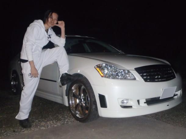 購入した車:日産 フーガ