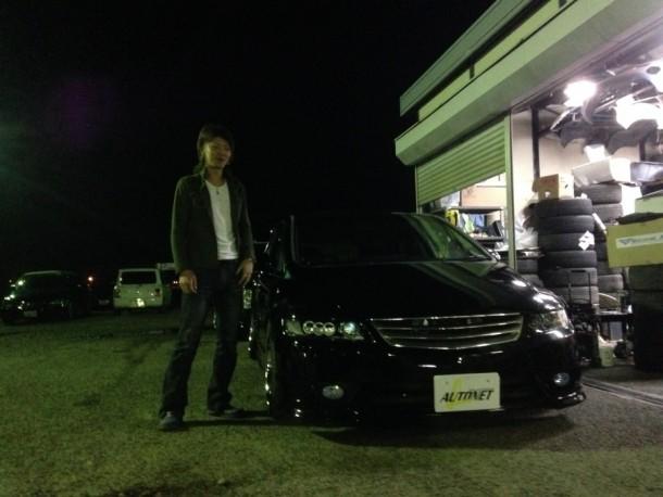 新潟県  志田さん 購入した車:ホンダ オデッセイ