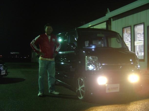 新潟県  岸本さん 購入した車:スズキ エブリィワゴン