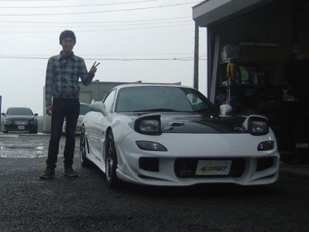 新潟県  田中さん 購入した車:マツダ RX-7