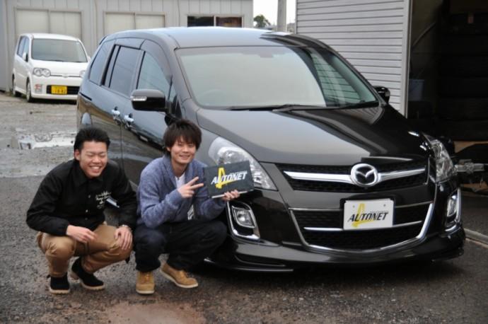 新潟県  坂井さん 購入した車:マツダ MPV