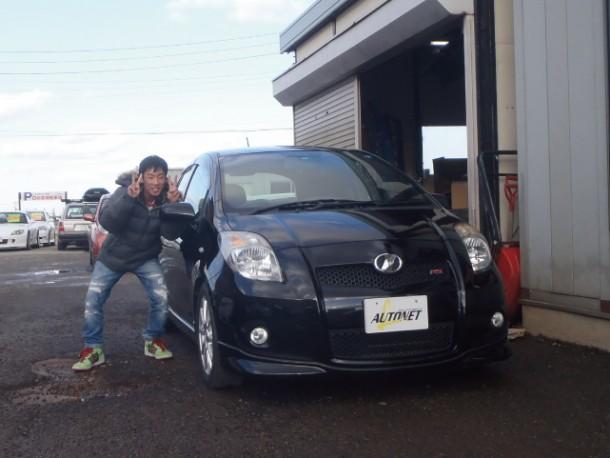 新潟県  伊藤さん 購入した車:トヨタ ヴィッツ