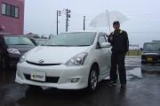 新潟県 伊花さん 購入した車:トヨタ ウィッシュ