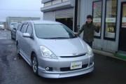 新潟県 佐藤さん 購入した車:トヨタ ウィッシュ