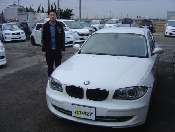 新潟県  乙川さん 購入した車:BMW 1シリーズ